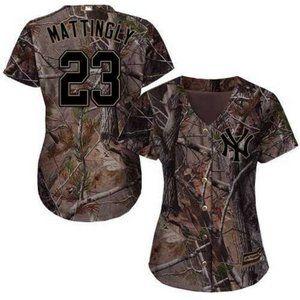 New MLB York Yankees Don Mattingly #23 Jersey